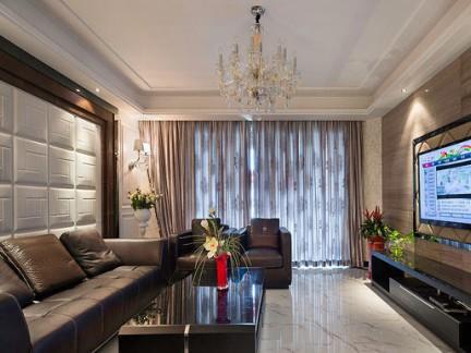 现代客厅吊顶装修图片 - 良工装饰