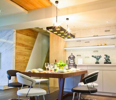 现代创意餐厅室内设计图片