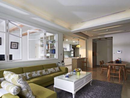 94平米两室一厅一卫户型装修图欣赏-2018一室一卫装修图 房天下装修图片