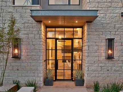 别墅欧式玻璃门贴图