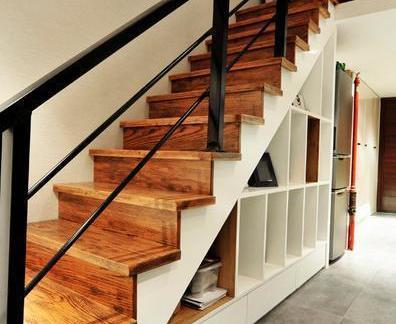 2019阁楼楼梯装修效果图-房天下装修效果图