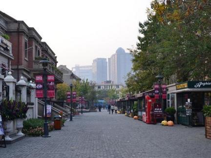 现代城市步行街效果图欣赏