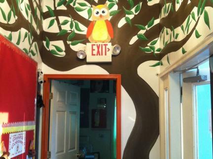 幼儿园睡房装饰画