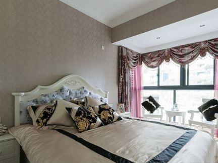 黄莉室内设计作品_小户型卧室室内设计