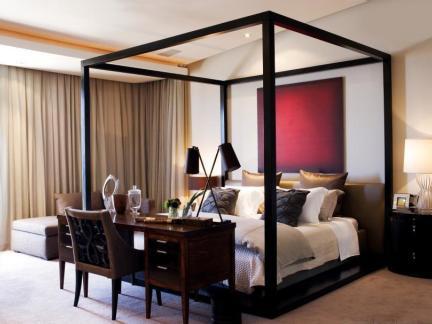 2017东南亚风格四室两厅卧室装修效果图 房天下装修效果图图片