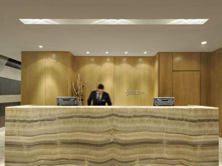 大理石酒店服务台设计