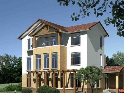 现代房子外观设计图