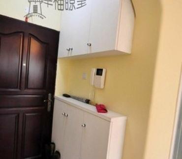 进门玄关60平米旧房改造