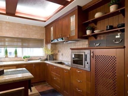 东南亚家居厨房装修典范