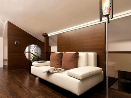 日式风格客厅家具沙发图片