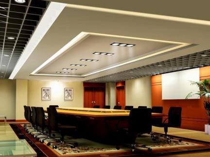 会议室室内吊顶装修设计效果图片大全