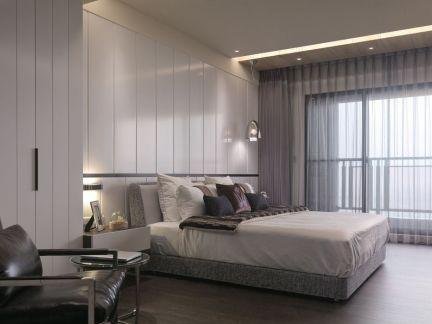 现代简约卧室整体装修布局