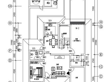 农村住宅设计平面图