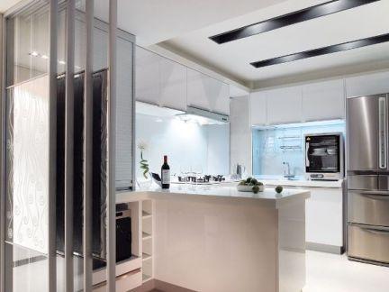 玻璃厨房折叠门图片