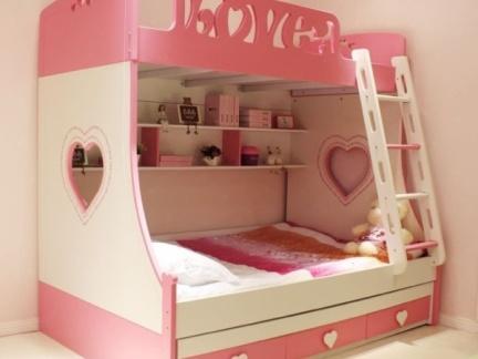 双胞胎儿童房装修效果图 双层儿童房装修图片