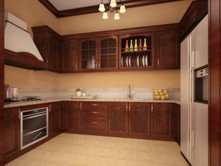 家装精装修设计厨房图片大全