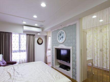 家庭装饰设计卧室电视背景墙