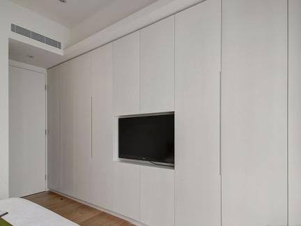 卧室组合柜电视墙装修效果图