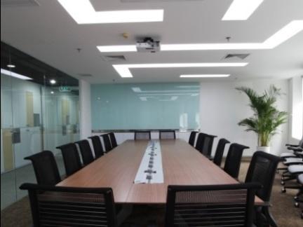 2018学校会议室布置效果图-房天下装修效果图图片