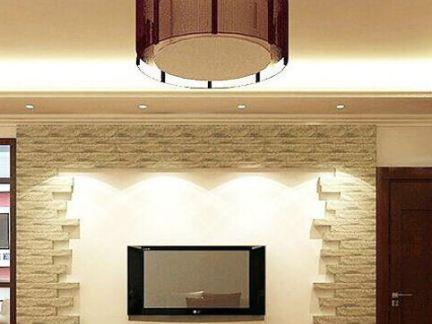 家装室内设计客厅电视背景墙效果图欣赏