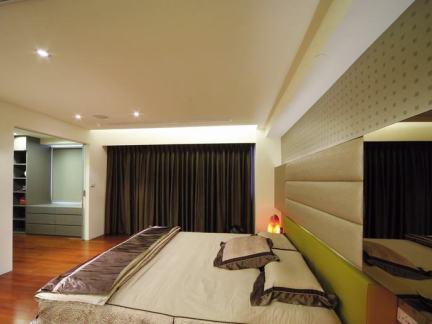 现代美式风格卧室