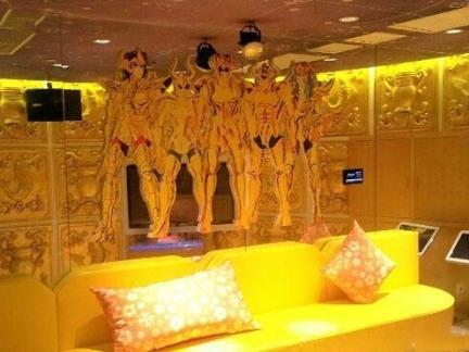 北京圣斗士主题餐厅包间装修图片