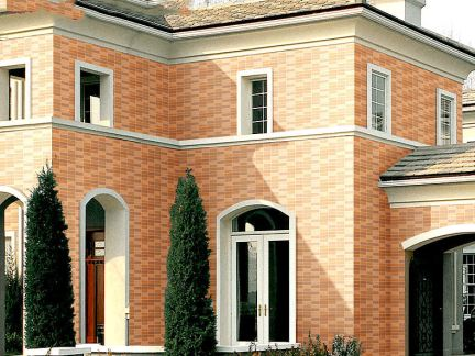 2018自家住宅外墙瓷砖搭配效果图 房天下装修效果图
