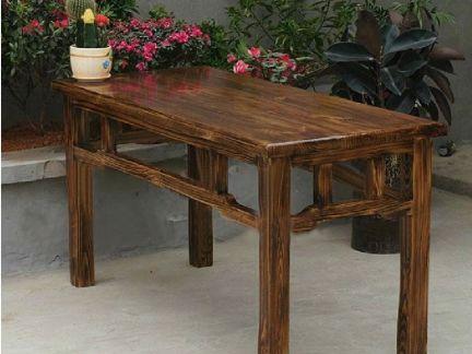 家用实木餐桌图片2015