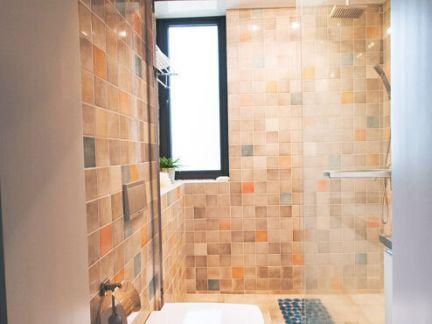 简约马赛克瓷砖卫生间装修效果图