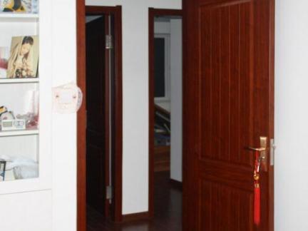 房间室内套装门效果图