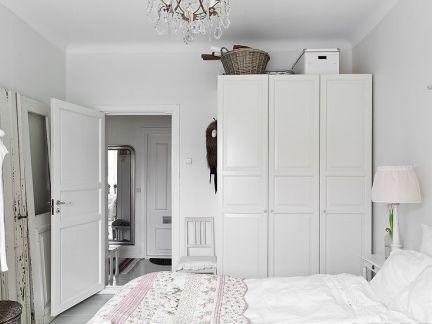 公寓装修卧室衣柜效果图