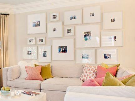 沙发背景照片墙图片