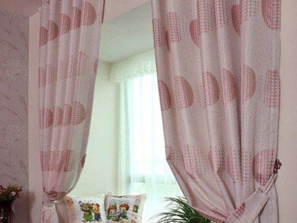 装修飘窗窗帘效果图