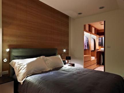 美式房屋室内卧室装修图片