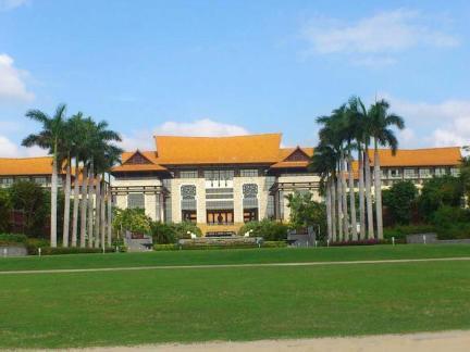 海棠湾万丽酒店建筑设计图片