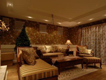 欧式风格三室两厅装修图片大全-龙发装饰