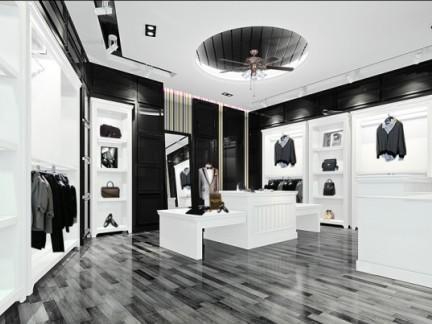 韩国服装店装修