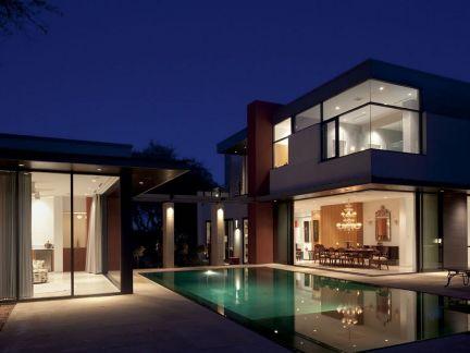 现代高端乡村别墅设计图图片