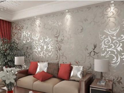 欧式风格液体壁纸漆效果图