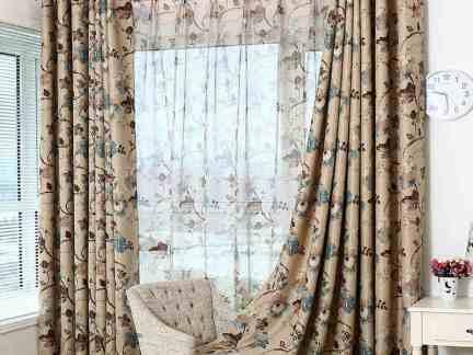 2017窗帘平幔头款式图片 房天下装修效果图