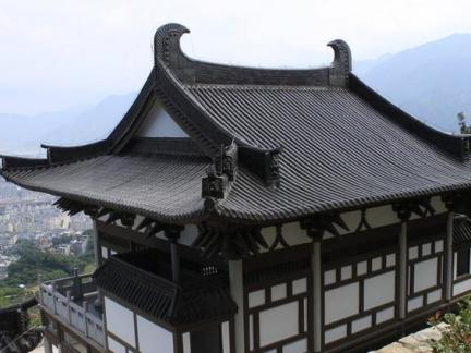 2017古建筑立面图设计-房天下装修效果图