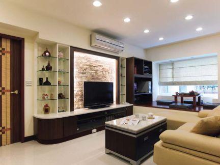 小客厅电视墙装修设计效果图