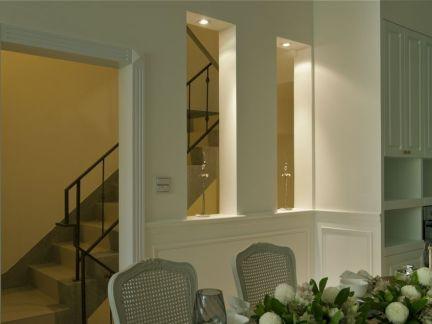 简欧风格家庭楼梯装修效果图
