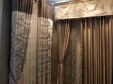 家装布艺窗帘展厅设计