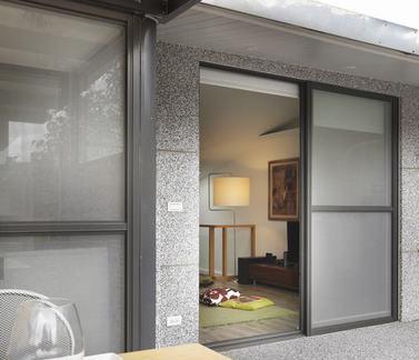 日式小庭院门户装修