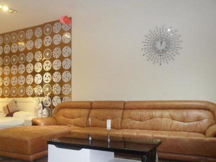 现代皮沙发设计效果图