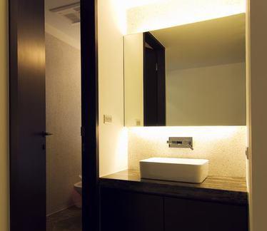 中式现代卫生间室内设计效果图
