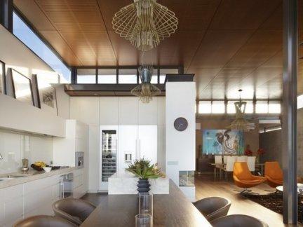 家用餐厅木吊顶图片-2017装修家用餐厅 房天下装修效果图