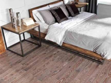 时尚卧室大自然木地板