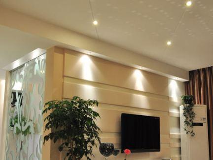 日式家装设计客厅电视背景墙设计效果图